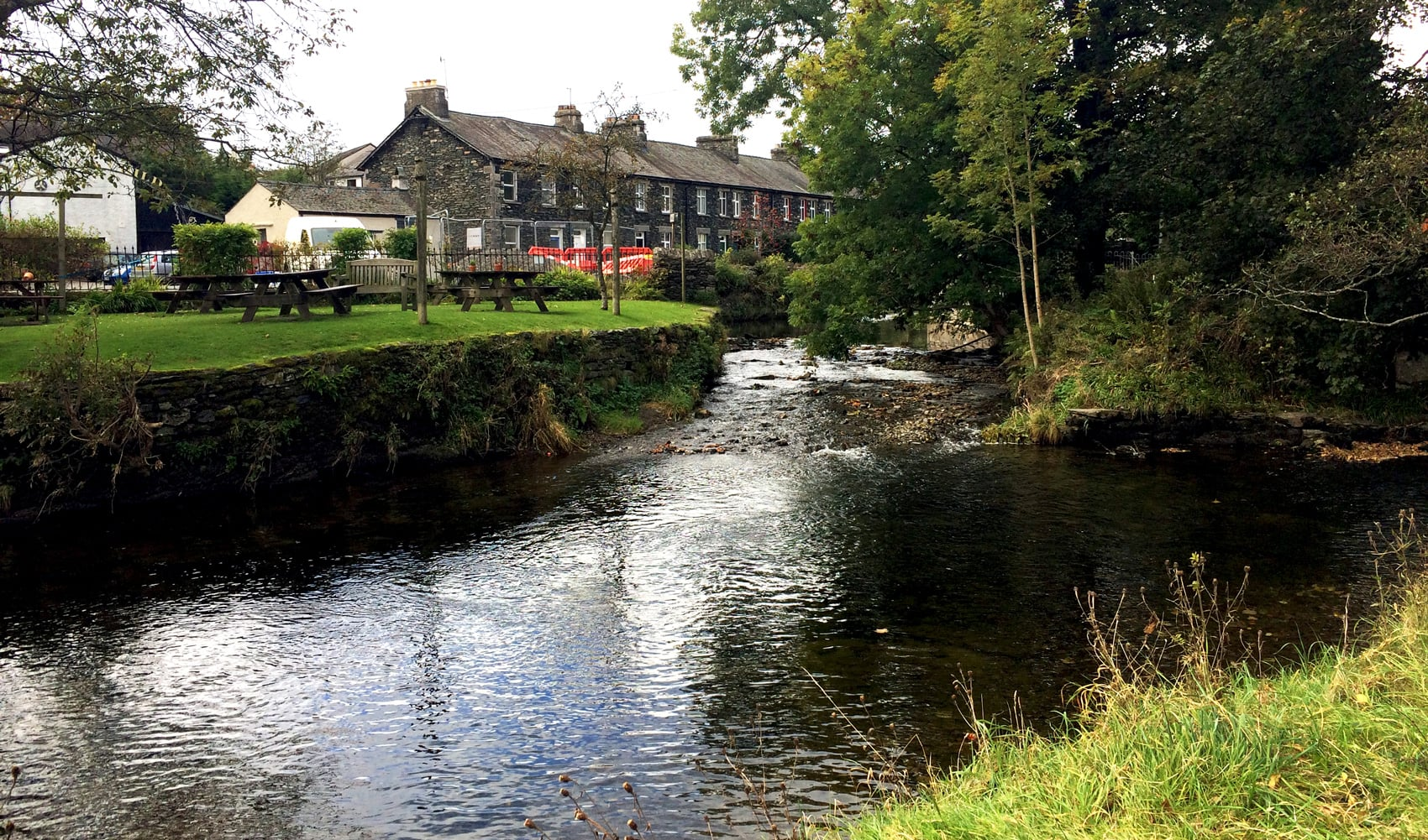 River restoration to relieve flooding in Staveley