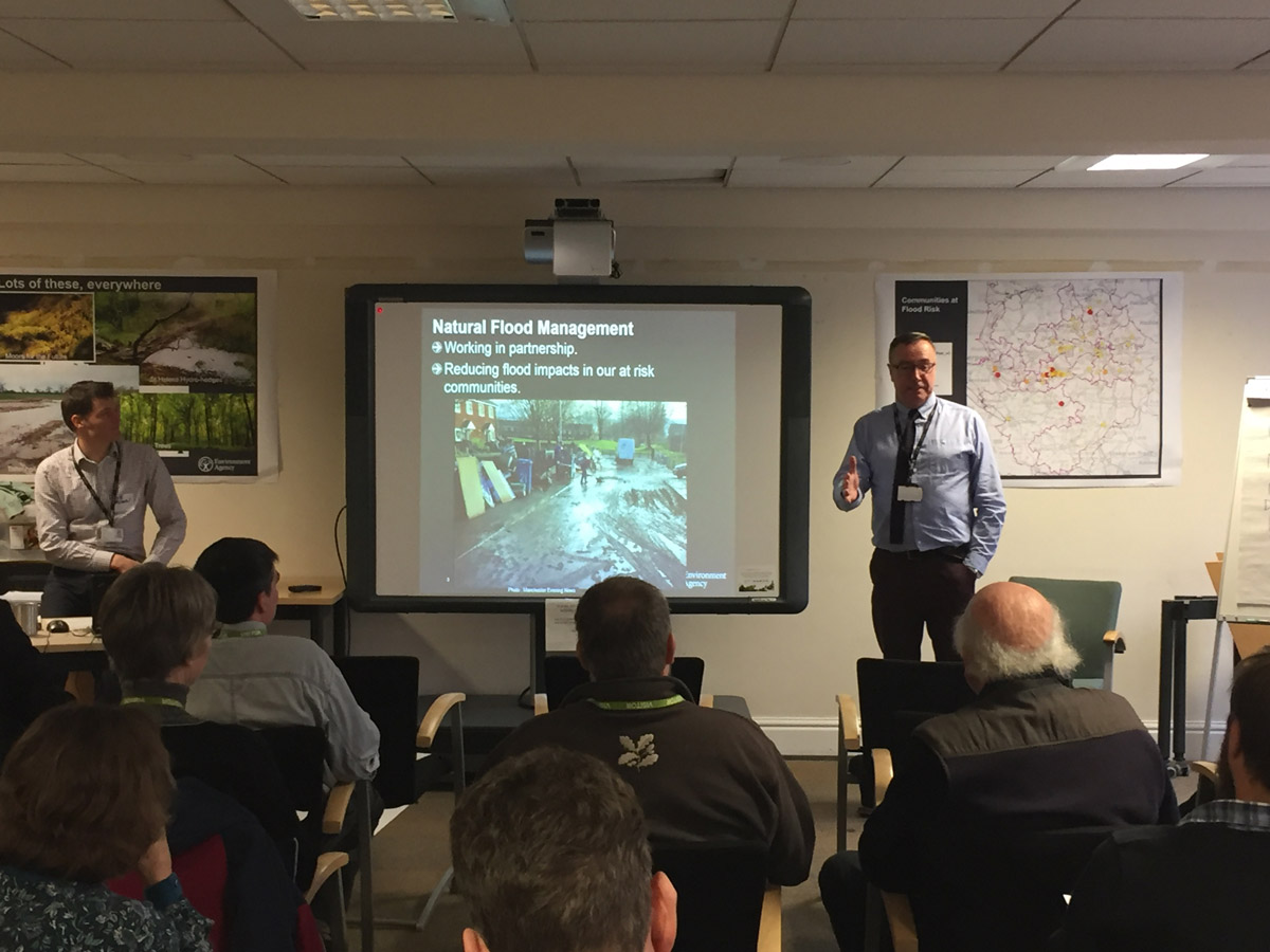 EA host Natural Flood Management Workshop