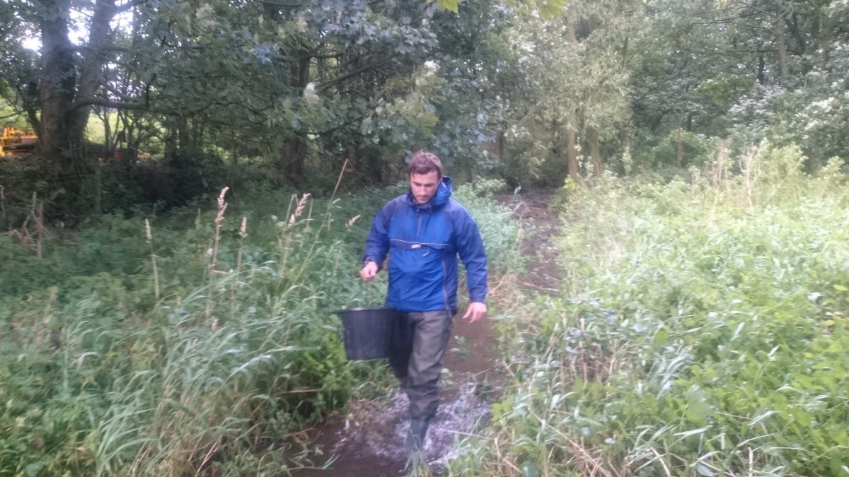 West Cumbria Rivers Trust seeks to improve the water quality of the Crookhurst Beck