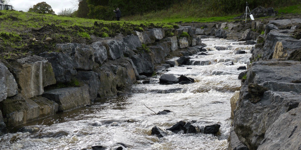 Historic weir bypass opens to help fish reach habitat for first time in over 170 years