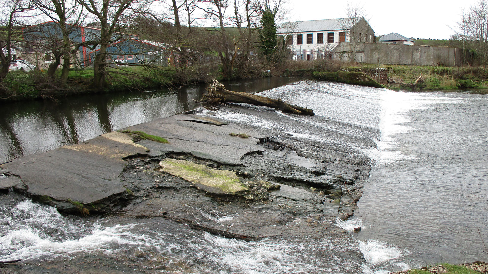 Removal of Failing Dam Weir Commences in Egremont