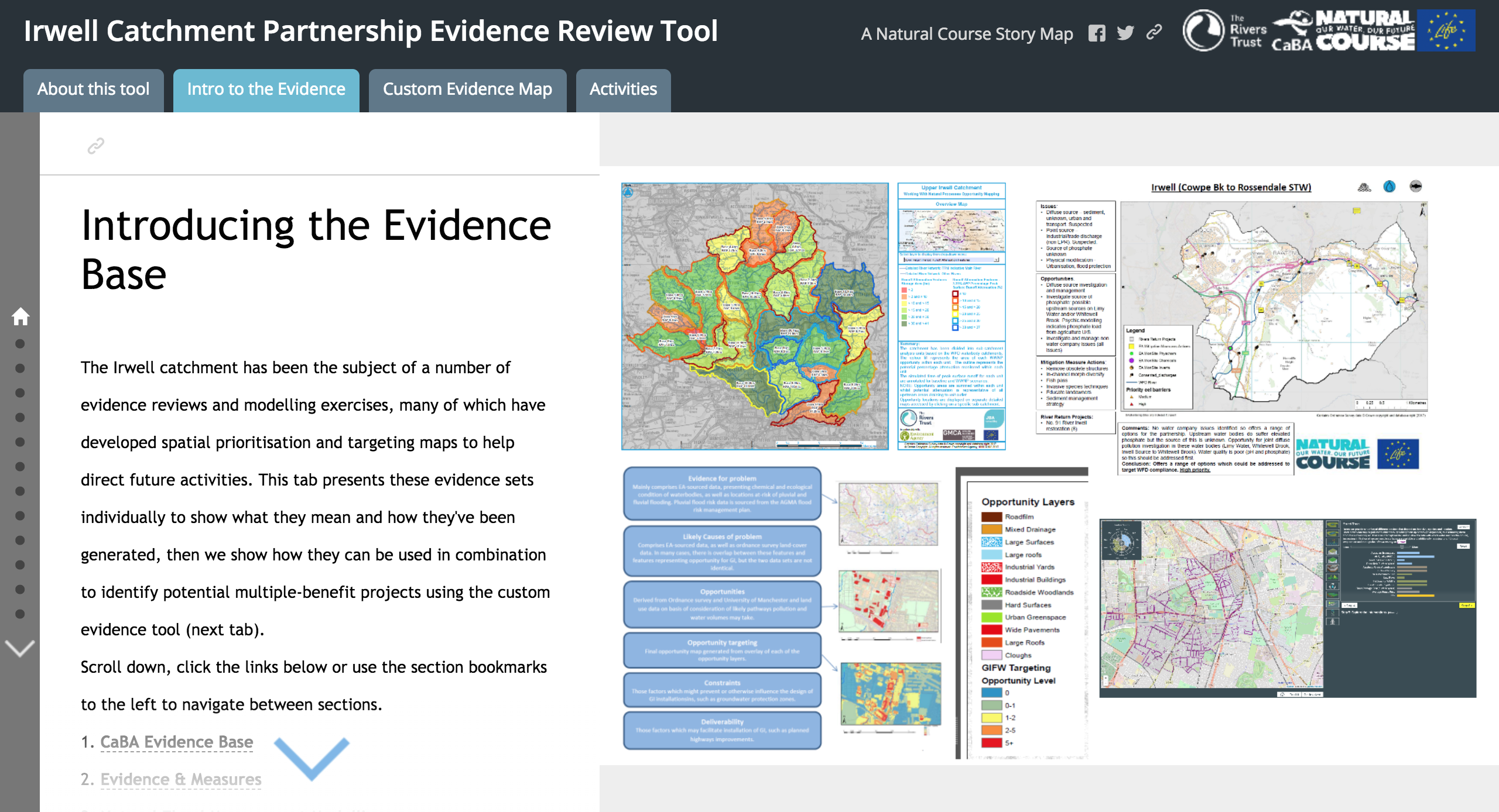 Using story maps to turn evidence into action