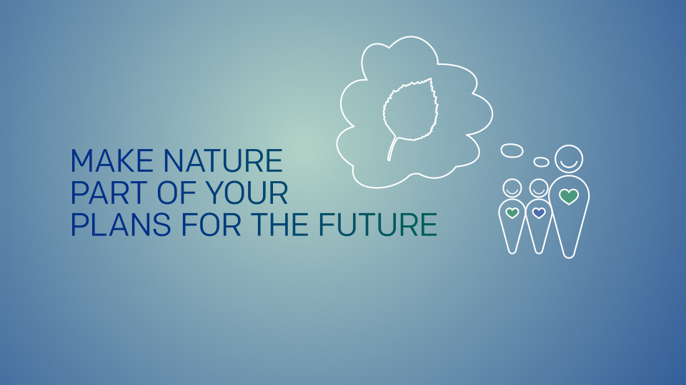 Use a natural capital approach to generate investment in GM – identify projects that are attractive to investors